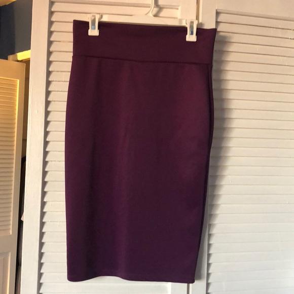 1cb7ac0593 revamped premium collection Skirts   Purple Pencil Skirt   Poshmark